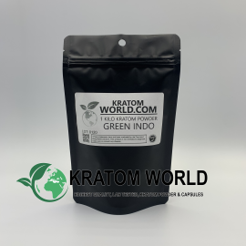 Green Indo Kratom Powder Kilo (1000 grams)