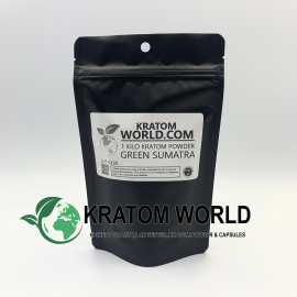 Green Sumatra Kratom Powder Kilo (1000 grams)