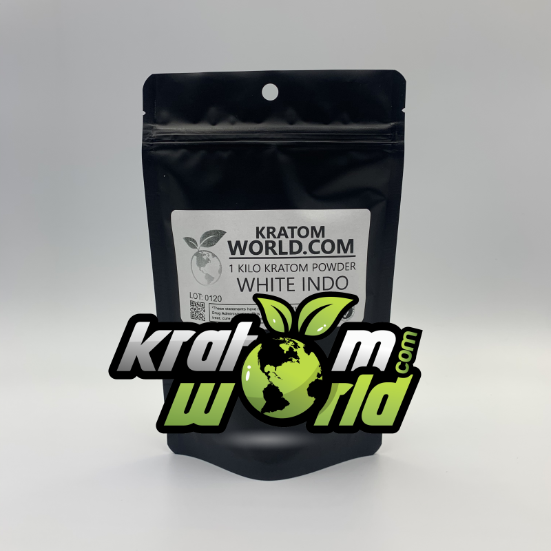 White Indo Kratom Powder