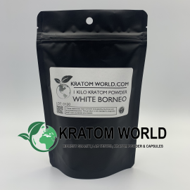 White Borneo Kratom Powder Kilo (1000 grams)
