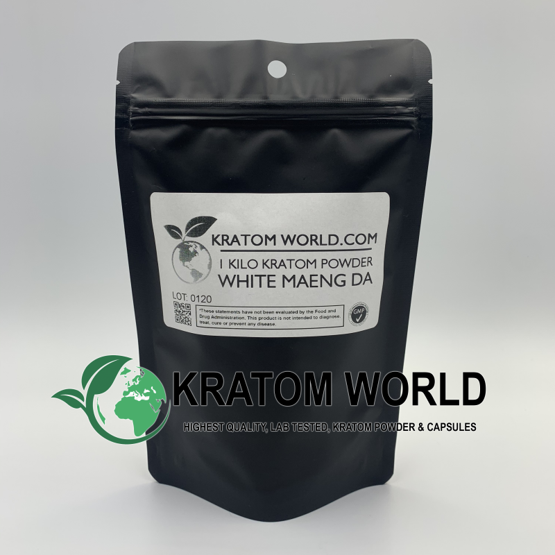 White Maeng Da Kratom Powder