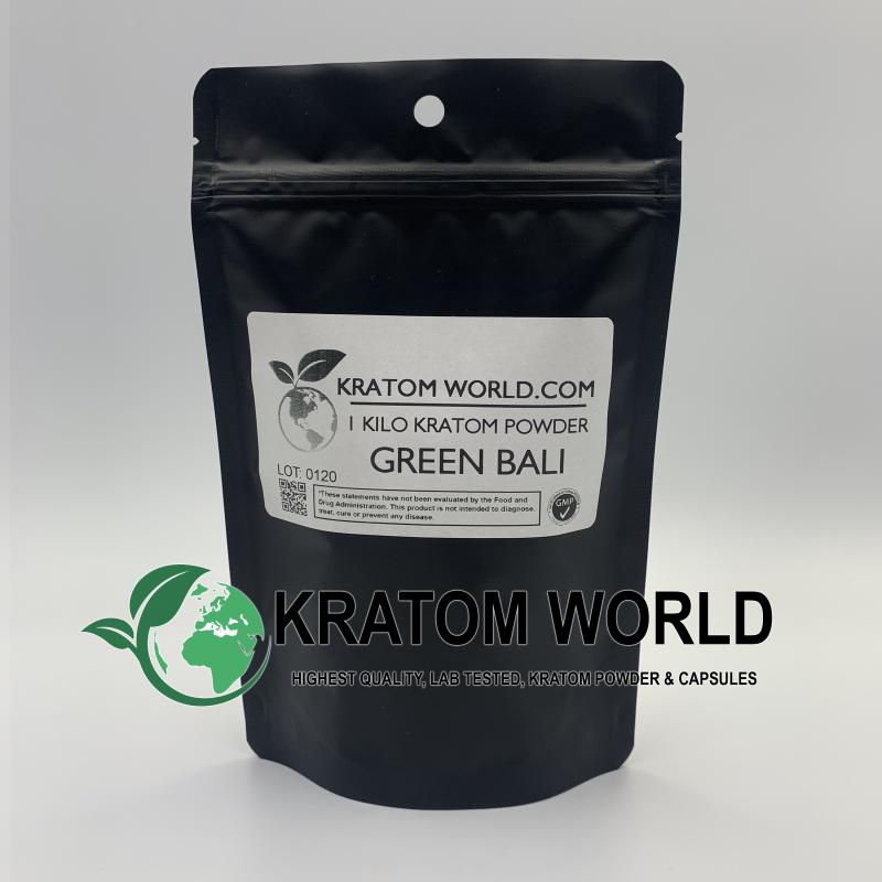 Green Bali Kratom Powder Kilo (1000 grams)