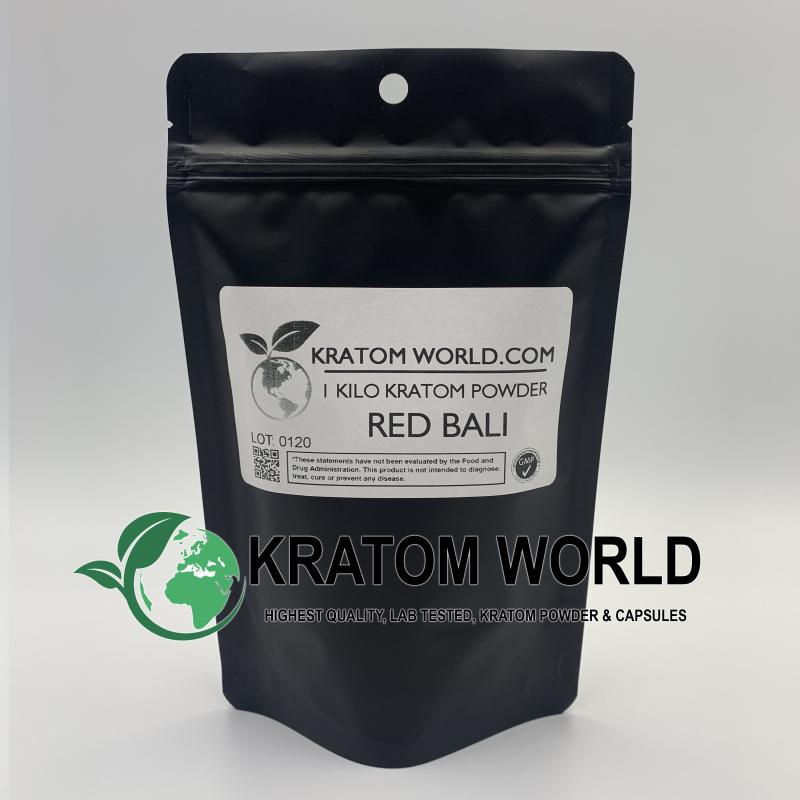 Red Bali Kratom Powder Kilo (1000 grams)